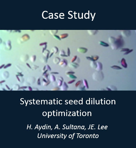Seed dilution optimization